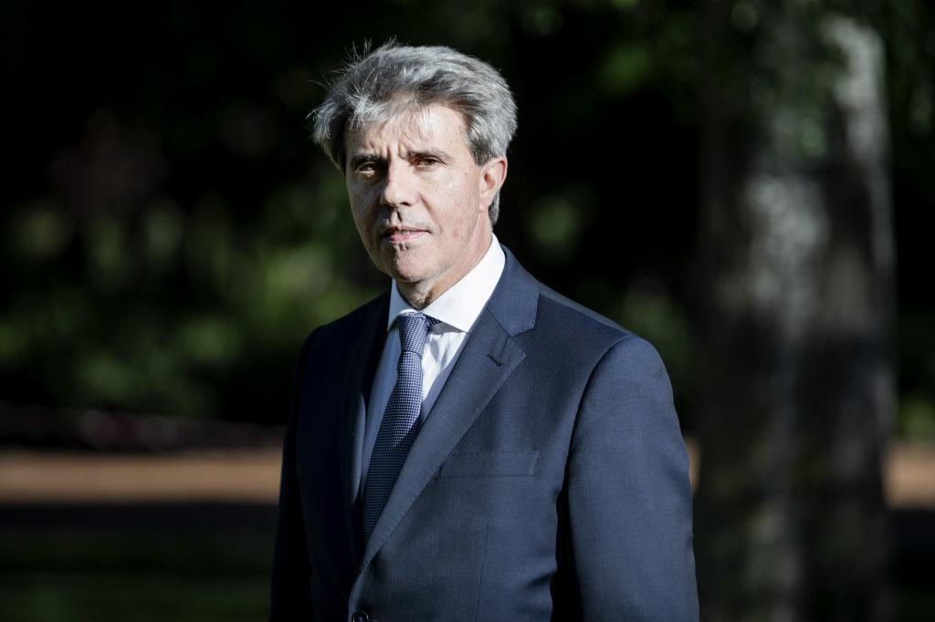 El ex presidente de Madrid, Ángel Garrido, el pasado jueves.