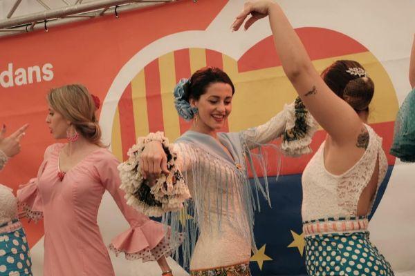 Jordi <HIT>Soteras</HIT> Catalunya Barcelona 27/04/2019 Ines Arrimadas visita La Feria de Abril en el Parque del Forum de Barcelona Foto Jordi <HIT>Soteras</HIT>