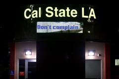 Imagen de uno de los campus de la Universidad Estatal de California Los Ángeles donde se ha decretado una cuarentena por más de 600 casos por sarampión.