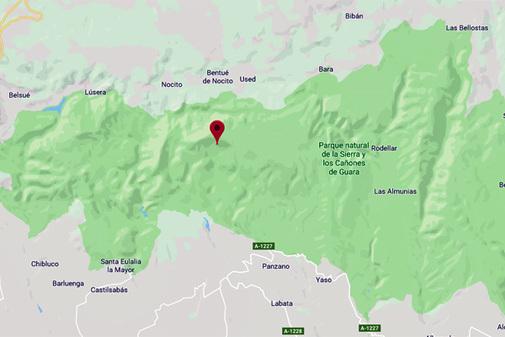 Sucesos | El niño rescatado en Huesca murió ahogado atrapado en una piedra