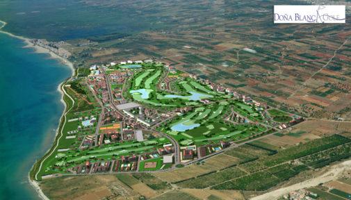 Imagen virtual del PAI Doña Blanca Golf de Torreblanca.