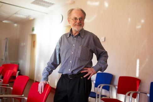 El científico holandés Jan Hoeijmakers, durante su visita a Madrid.