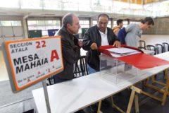 El País Vasco arranca con normalidad unas elecciones trascendentales para España