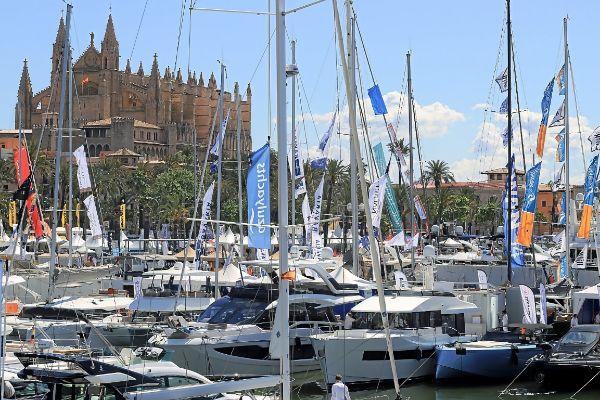 La 36 edición del Boat Show de Palma cuenta con 270 empresas y cerca de 600 embarcaciones en total.