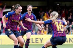 El Barcelona, primer equipo español en una final de Champions