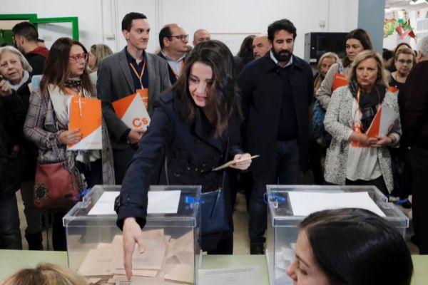 Jordi Soteras Catalunya Barcelona 28/04/2019 Ines <HIT>Arrimadas</HIT>...