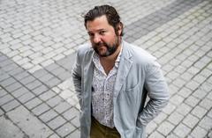 Jacobo Bergareche, fotografiado en el centro de Madrid.