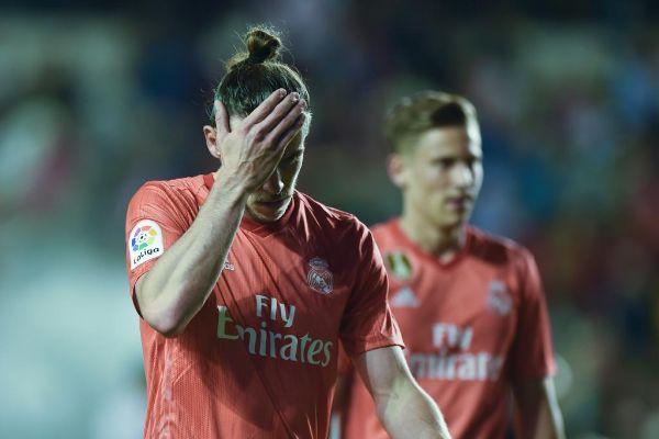 Gareth Bale, en Vallecas.