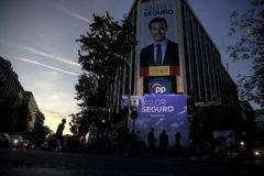 Aspecto desangelado de la sede de PP en la calle Génova