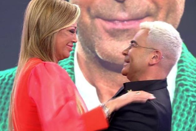 Belén Esteban entrevistó a Jorge Javier Vázquez en lugar de María...
