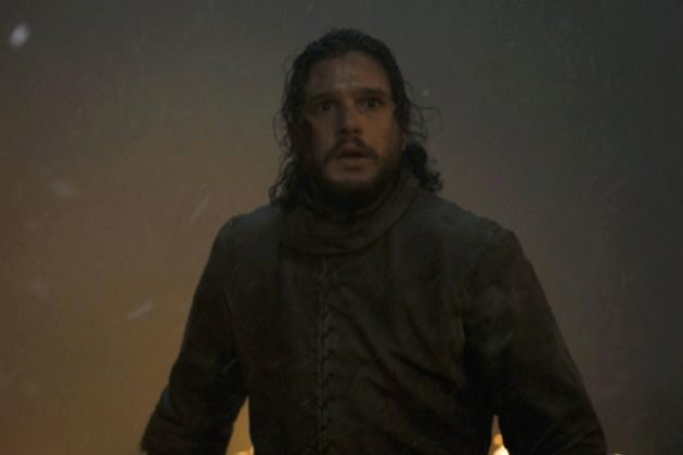 Jon Nieve (Kit Harington) en la octava temporada de Juego de Tronos,...