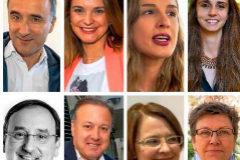 Los ocho diputados baleares en el Congreso