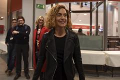 28 Abril 2019 - Cataluña - Barcelona - Sede Psc - Meritxell <HIT>Batet</HIT> entrando - Foto Marga Cruz