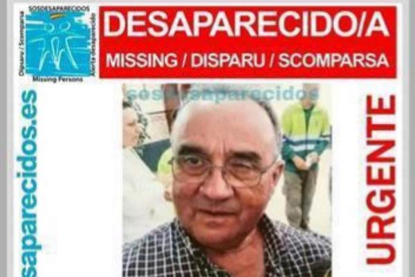 Foto de Roberto, desaparecido en Casarrubios del Monte