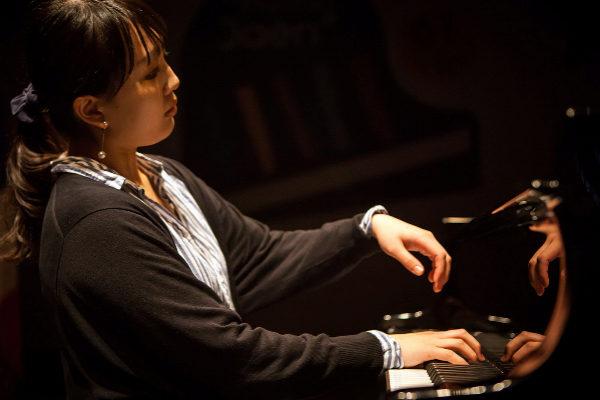 La pianista japonesa Nanako Kunita en una pasada actuación en Jaén.