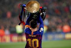 Otra de Messi