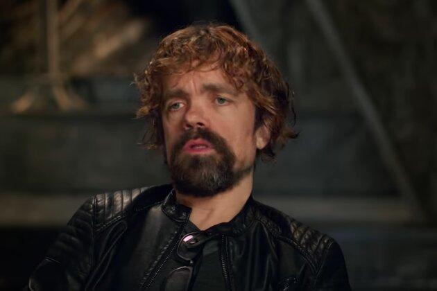 Peter Dinklage en una entrevista detrás de las cámaras antes del final de Juego de Tronos, que se estrenará en HBO en mayo junto al documental Juego de Tronos: La última guardia