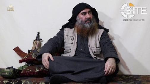 El IS acaba de difundir un vídeo con la imagen pública de al <HIT>Bagdadi</HIT>, la primera vez desde 2014