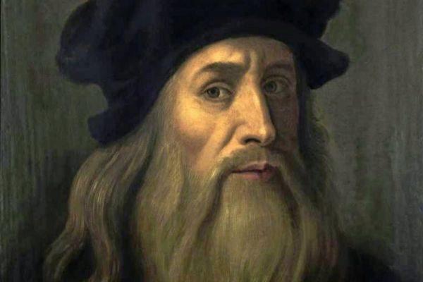 El artista italiano Leonardo Da Vinci
