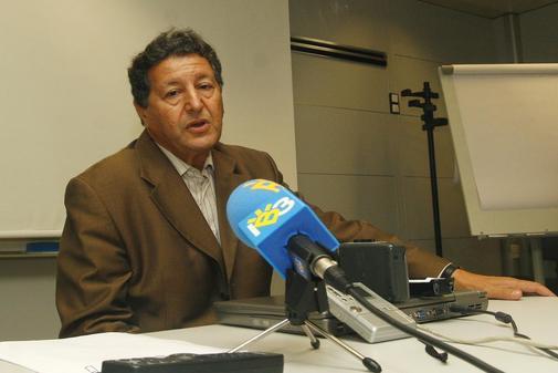Sami Naïr, en una conferencia celebrada en Baleares.