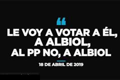 Albiol intenta aislarse del descalabro electoral del PP
