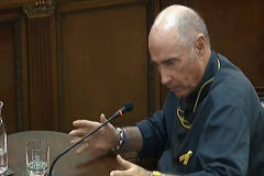 El cantante Lluís Llach declara en el Tribunal Supremo