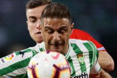 El Villamarín pide el despido de Setién tras el 1-1 ante el Espanyol