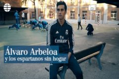 Álvaro Arbeloa y los espartanos sin hogar