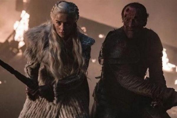 Daenerys y Jorah Mormont durante el capítulo 8x03 de Juego de Tronos