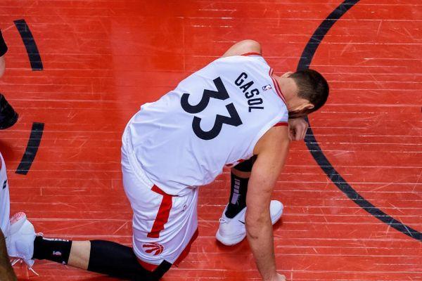 Marc Gasol, en el partido ante los Sixers.