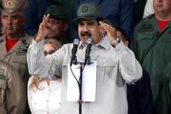 El presidente de facto de Venezuela, Nicolás Maduro.