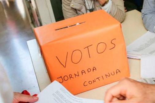 Las votaciones en la Comunidad se realizaron el 1 de abril.