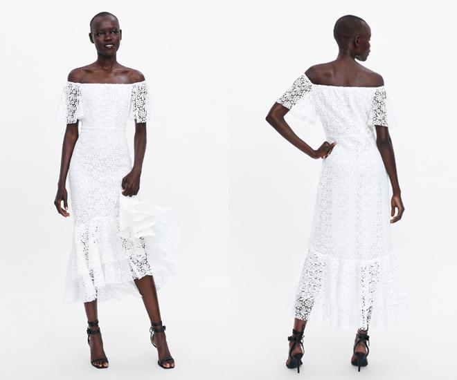 e30aa100fa Así que si estás buscando vestido de novia low cost (o un vestido blanco  con el que triunfar en cualquier evento este verano) corre porque va a  volar de la ...