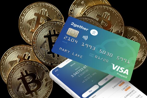 Así funciona la 'fintech' 2gether y su tarjeta Visa con criptomonedas