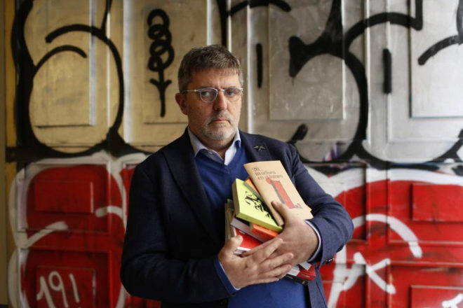 Mario Tascón fotografiado en Madrid