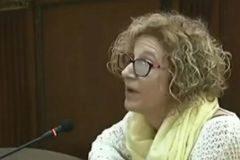 La testigo Pilar Calderón, apoderada de ERC en el referéndum ilegal, ante el tribunal.