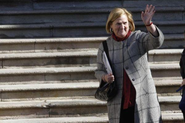 Imagen de archivo de la ex presidenta Núria de Gispert