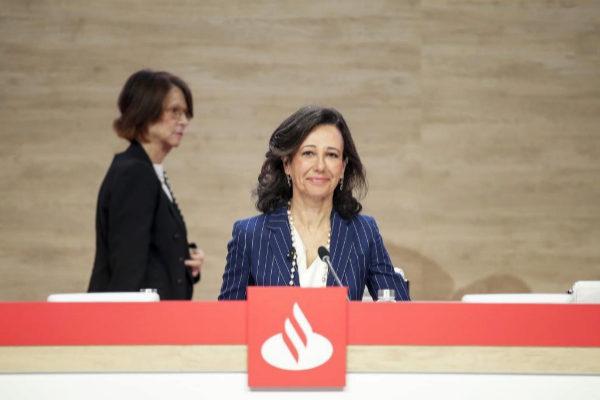 Ana Botín, en la junta general de accionistas del Banco Santander.