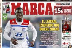 Los posibles  fichajes del Madrid, en los diarios deportivos