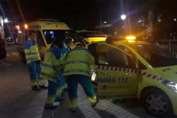 Actuación del SUMMA en Cobeña, en Madrid, donde un chico ha muerto por heridas de arma blanca.