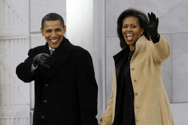 El matrimonio Obama.