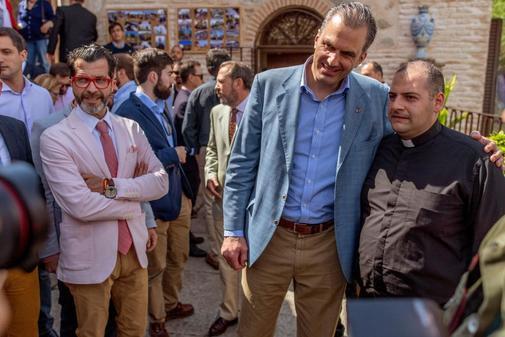 El secretario general de Vox, Javier Ortega Smith, en Toledo