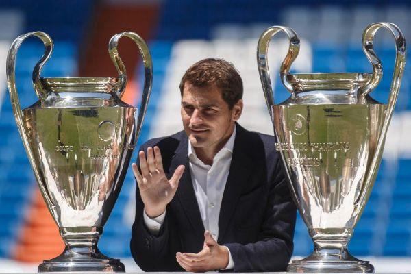 Casillas, en su despedida.