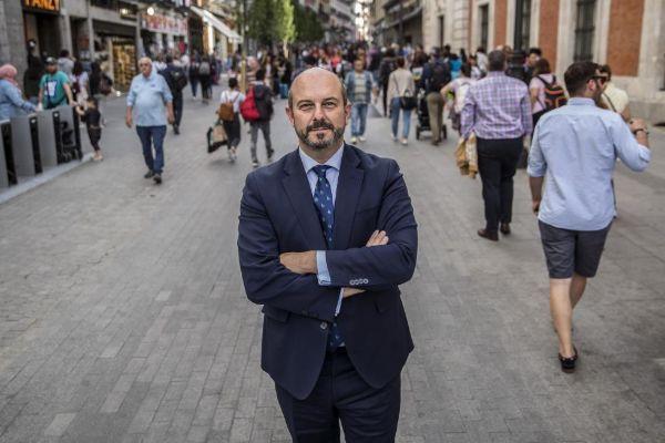 El presidente en funciones de Madrid, Pedro Rollán.