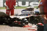 Senna tenía miedo, ese día no quería correr