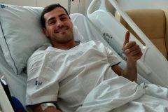 """Iker Casillas, hospitalizado tras sufrir un infarto agudo: """"Todo controlado, es un susto"""""""