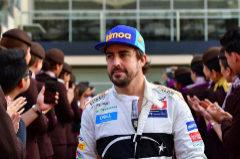 Fernando Alonso, durante el último GP Abu Dhabi.