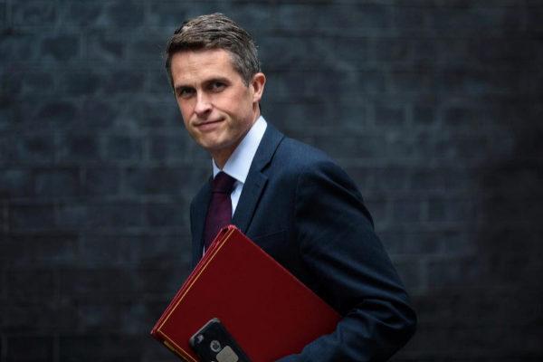 Gavin Williamson, ex ministro de Defensa, en una imagen de archivo.