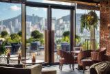 El restaurante Red Sugar, uno de los mejores espacios del hotel.