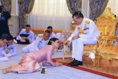 Ceremonia de la boda del rey de Tailandia Vajiralongkorn con Suthida Tidjai.